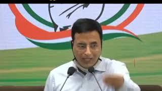 "Congress demands probe into ""Organised Crime"" nexus by sitting SC Judge: Randeep Singh Surjewala"