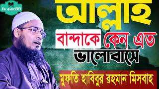 আল্লাহ বান্দাকে কেন এত ভালোবাসে । শোনার মত ওয়াজ । Mufti Habibur Rahman Misbah | New Waz Mahfi