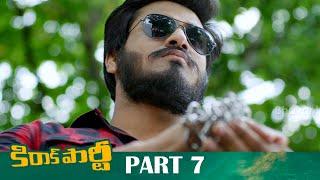 Kirrak Party Full Movie Part 7 - Latest Telugu Movies - Nikhil, Samyuktha Hegde, Simran Pareenja