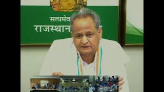 BJP trying to destabilize Rajasthan government: CM Ashok Gehlot