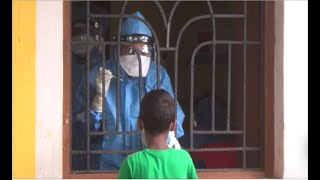 WATCH: COVID positive patient found in Mapusa-Cuchelim, Swab testing begins