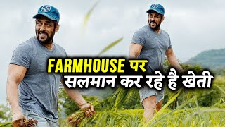 Salman Khan LATEST Post From Farmhouse; Spotted Planting