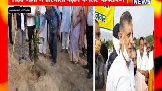 YAMUNA NAGAR : 1100 गांवों में हरियाली बढ़ाने के लिए पौधरोपण ! ANV NEWS HARYANA !