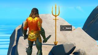 Claim Free Trident Pickaxe at Coral Cove Challenge Reward (Aquaman Week 5)