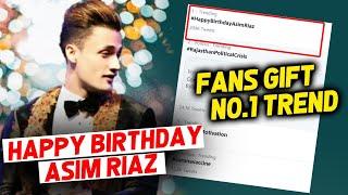 Asim Riaz's Birthday | Fans NO. 1 TREND #HappyBirthdayAsimRiaz On Twitter