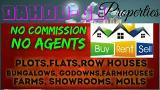 11.  PROPERTIES  ☆ Sell •Buy •Rent ☆ Flats~Plots~Bungalows~Row Houses~Shop $Real estate ☆