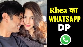 Rhea Chakraborty Sets PIC With Sushant Singh Rajput As Her WhatsApp DP