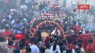 #MAHAKAL की सवारी का सुन्दर दृश्य HARSIDHI मंदिर पर हुआ भव्य स्वागत