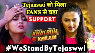 Khatron Ke Khiladi 10: Fans Support Tejasswi And Slams Contestants For Being Unfair With Her