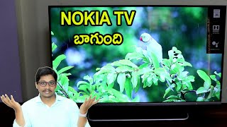 Nokia (43 inch) Ultra HD (4K) LED Smart Android TV with Sound by JBL Unboxing telugu