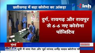 Chhattisgarh News    Corona Virus Outbreak बढ़ा कोरोना का आंकड़ा, मिले नए 113 Corona Positive मरीज