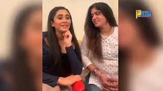 Naira Aka Shivangi Joshi and her mother Yashoda Joshi talking about the show #anupamaa