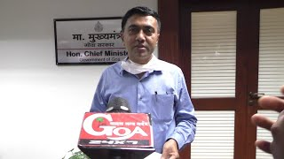 ????LIVE: Chief Minister Dr Pramod Sawant