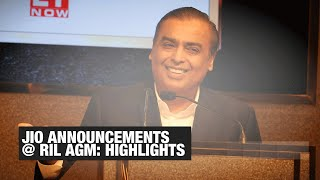 5G solution, Jio TV Plus, Jio Glass, affordable smartphones: Top Jio announcements made at RIL AGM