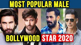 Most Popular Male Bollywood Star 2020 | Akshay, Salman, Shahrukh, Hrithik