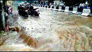 Tezz Barish | Hyderabad Ka Haal Dheko Barish Mein | @Sach News