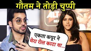 Gautam Gulati Claims Ekta Kapoor Cut His Role In the First Film: I Kept Calling, But Got No Response