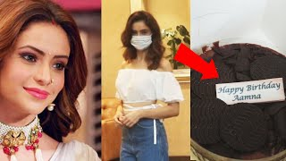 Kasautii Zindagii Kay Actress Aamna Sharif Spotted Outside Her Home For Her Birthday