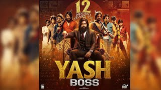Rocking Star Yash To Complete 12 Years In Film Industry | Fans Launches CDP