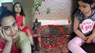 Actress Shwetha Srivatsav daughter witnessed snake at home   Shwetha Srivatsav