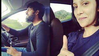 What a beautiful moment captured by Milana Nagaraj   Darling Krishna and Milana Nagaraj Long Drive