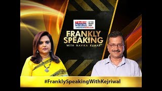 Arvind Kejriwal Live on Frankly Speaking with Navika Kumar on Times Now | LIVE