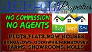 JIND -HR-  PROPERTIES  ☆ Sell •Buy •Rent ☆ Flats~Plots~Bungalows~Row Houses~Shop $Real estate ☆