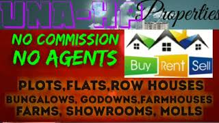 UNA -HP-  PROPERTIES  ☆ Sell •Buy •Rent ☆ Flats~Plots~Bungalows~Row Houses~Shop $Real estate ☆