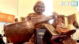 Next to Bhagavad Gita,  Bible and Quran placed were placed in Kalam's Memorial