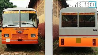 Changing Regimes Change Colours of UP Buses, it's Saffron This Time