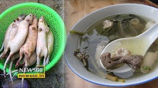 Rat soup served ahead of the Chinese New Year