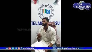 NSUI President Venkat Balmoor Facebook Live | Top Telugu TV