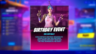 Fortnite Birthday Event Free Reward (Fortnite Battle Royale)