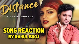 Himanshi Khurana (Full Song) Distance | Reaction | Review | Bunty Bains | Desi Crew