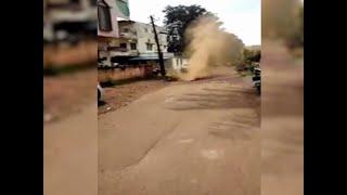 Karnataka: Major accident averted after gas pipeline burst during repair work in Hubli
