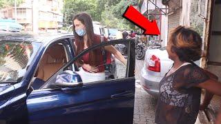 Arbaaz Khan Girlfriend Giorgia Andriani Spotted Salon At Bandra