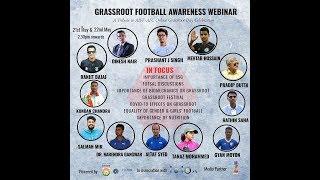 Grassroots Football Awareness Webinar