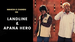 LANDLINE & APNA HERO | Standup Comedy By MAHESH & CHANDU