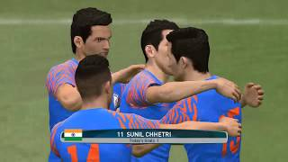 INDIAN NATIONAL TEAM AFC ASIAN CUP || FAN GAMEPLAY ||