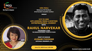 Life Lessons from a Riveting Entrepreneurial Journey with Mr Rahul Narvekar