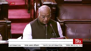 Mallikarjun Kharge takes oath as Rajya Sabha member from Karnataka