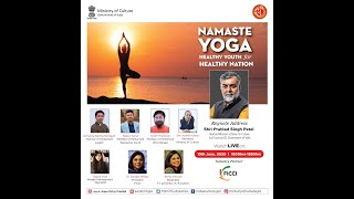 NAMASTE YOGA: Healthy Youth for Healthy Nation