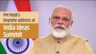 PM Modi's keynote address at 'India Ideas Summit' | PMO
