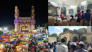 Street Vendors | Hawkers Horahay Hain Pareshan | Charminar Hyd | @ SACH NEWS |