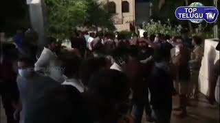 Pawan Kalyan fans Hungama at RGV Company Office | Pawer Star Movie | Ram Gopal Varma |