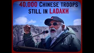 40 thousand PLA Troops on LAC: Government on Silent mode