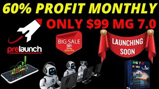 ROBO MG 7.0  FOREX TRADING 60% MONTHLY PROFIT