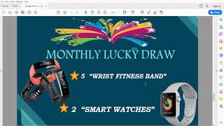LUCKYDRAW REWARDS RESULT || MONEY GROWTH TEAM ||
