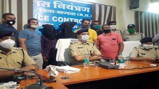 खंडवा  मालगोदाम पर हुई ट्रक ड्राइवर हफीज की हत्या के आरोपी 24 घंटे में गिरफ्तार