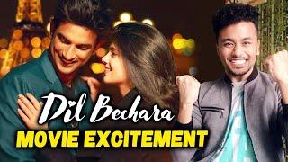 Dil Bechara Movie Excitement | Sushant Singh Rajput's LAST Film